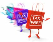 Tax Free Shopping Bags Represent Duty Exempt Discounts