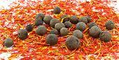 saffron ,black allspice