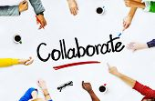 stock photo of collaboration  - Multi - JPG