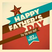 foto of daddy  - Illustration of retro father - JPG