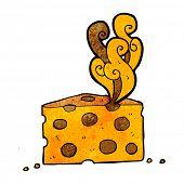 cartoon smelly cheese