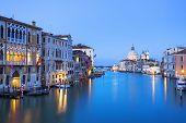 Grand Canal And Basilica Santa Maria Della Salute