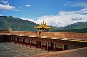 Tibetan Monastery In Xiancheng, China