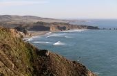 stock photo of pch  - Landscape along Highway 1 in Southern California - JPG