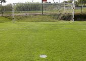 Football Goal And Penalty Point Detail
