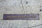Berlin Wall Plaquette