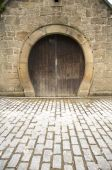 Horseshoe Shaped Door