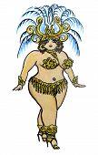 Curvy Showgirl