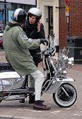 Mods y scooters de la motocicleta