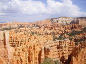 Summer Thunder Clouds Over Bryce Canyon
