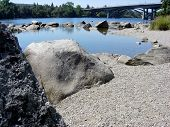 folsom river rocks