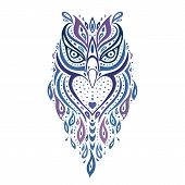 image of owls  - Decorative Owl - JPG