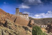 Ruins At Basgo Monastery