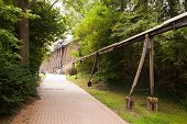 historical power transmission system Bad Kosen