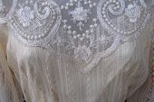 picture of martha  - antique lace wedding dress in shop on martha - JPG