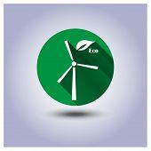 Vector Eco Icon Sticker