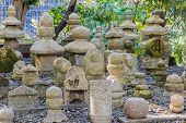 Buddhist Cemetery At The Kiyomizu-dera Temple