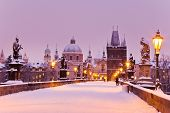 Charles Bridge, Old Town Bridge Tower, Prague (unesco), Czech Republic