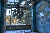 Old Abandoned Operating Theater In Beelitz