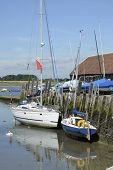 Bosham Quay. West Sussex. England