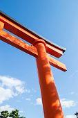 Fushimi Inari Taisha Shrine in Kyoto City, Japan