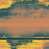 Old Texture. With different color patterns: yellow; brown; gray; orange