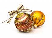 Two Christmas Ball