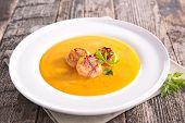 soup and seafood