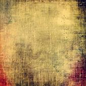 Dirty and weathered old textured background. With different color patterns: gray; orange; brown; yellow