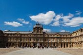 Paris. Palace Of The Louvre.