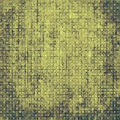 Old, grunge background texture. With different color patterns: gray; green; yellow