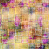 Grunge old texture as abstract background. With different color patterns: green; purple (violet); orange; brown; yellow