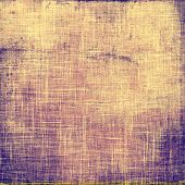 Grunge old texture as abstract background. With different color patterns: yellow; gray; blue; purple (violet)
