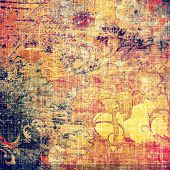 Grunge texture, may be used as background. With different color patterns: blue; purple (violet); orange; red; yellow
