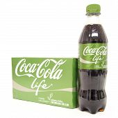 Coca Cola Life 6-pack And Bottle