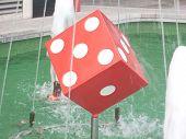 BELGRADE SERBIA – NOVEMBER 11 JUGOSLAVIJA GRAND CASINO BEOGRAD cube