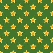Retro Christmas Texture With Stars