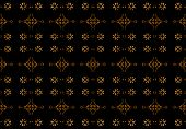 Arabesque Dark Background Pattern