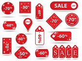 Big Sale, Sticker And Banners, Promotion