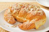 Large Almond Croissant