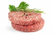 burgers and herbs