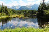 High Tatras - Slovakia, lake and mountains