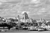 Dufferin terrace and Chateau Frontenac of Old Quebec