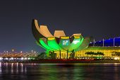 The Artscience Museum In Singapore
