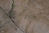Cracking Cement Floor