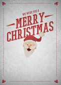 Chistmas With Santa Claus Background