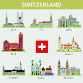 Cities of Switzerland