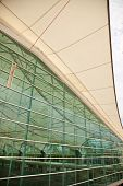 San Diego Convention Center Architectural Abstract
