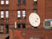 Satellite On Brick