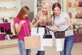 foto of upstairs  - Desperate shopping women - JPG